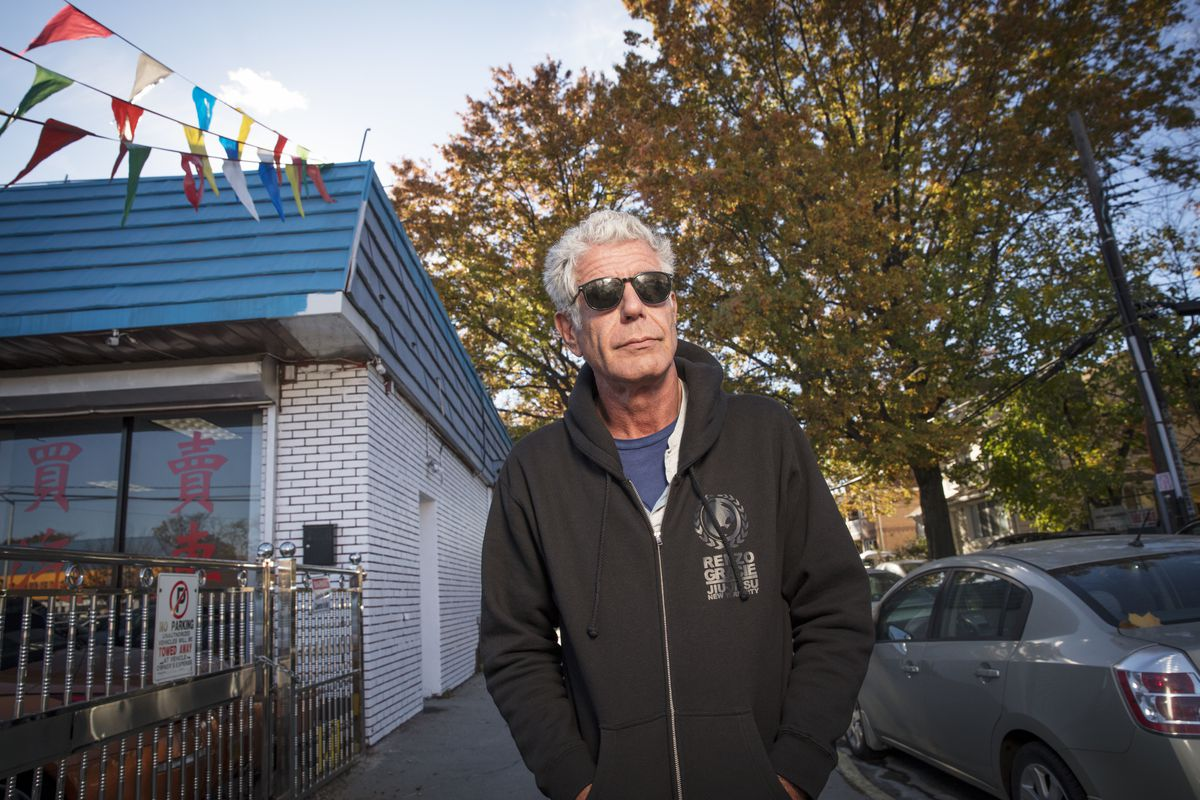 caf3ca5a7eb A Glimpse at Anthony Bourdain's New York City - Eater NY