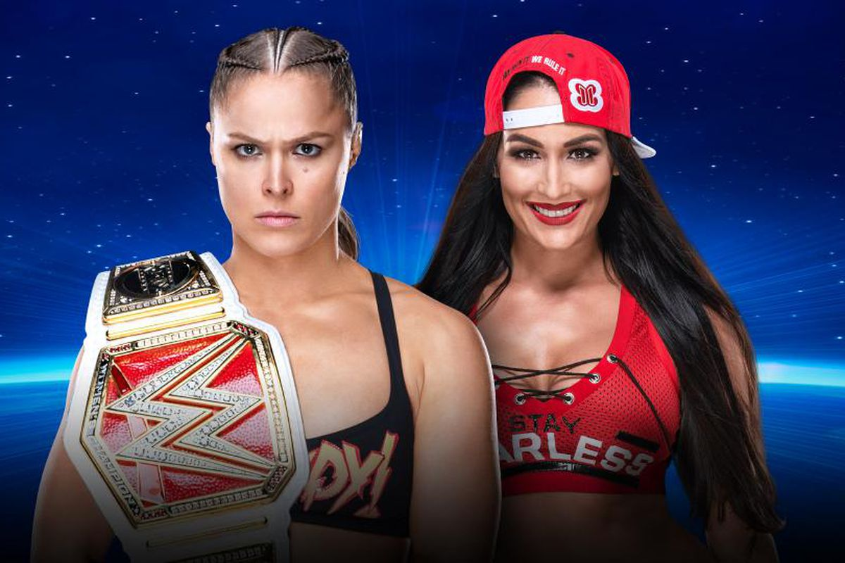 WWE Evolution results, live streaming match coverage: Rousey