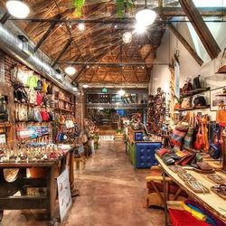 """Before you head to the next point <a href=""""http://www.willleathergoods.com"""">Will Leather Goods</a> (1360 Abbot Kinney Blvd), be sure to make a pit stop at Gjelina's mystical Uniwolfcheetah, created by stylish artist (and AKOS co-owner) <a href=""""http://la."""