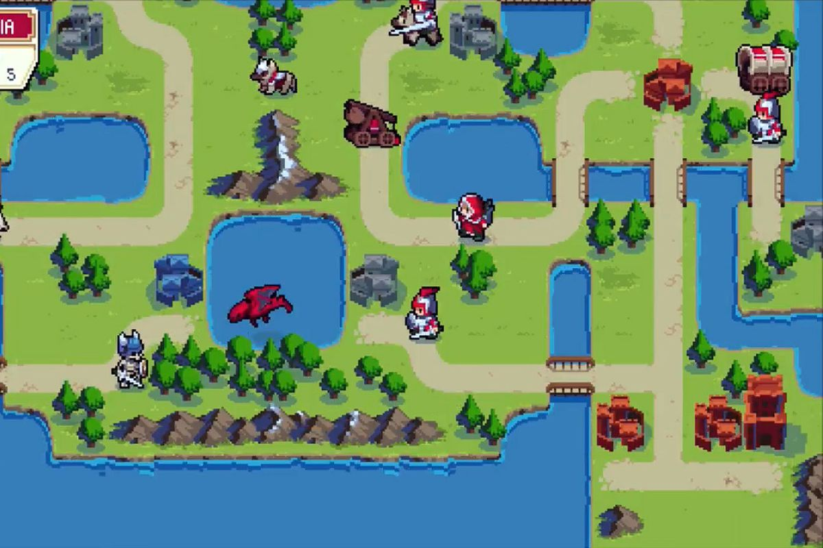 Wargroove makes it easy to make your own fire emblem or advance chucklefish games gumiabroncs Images