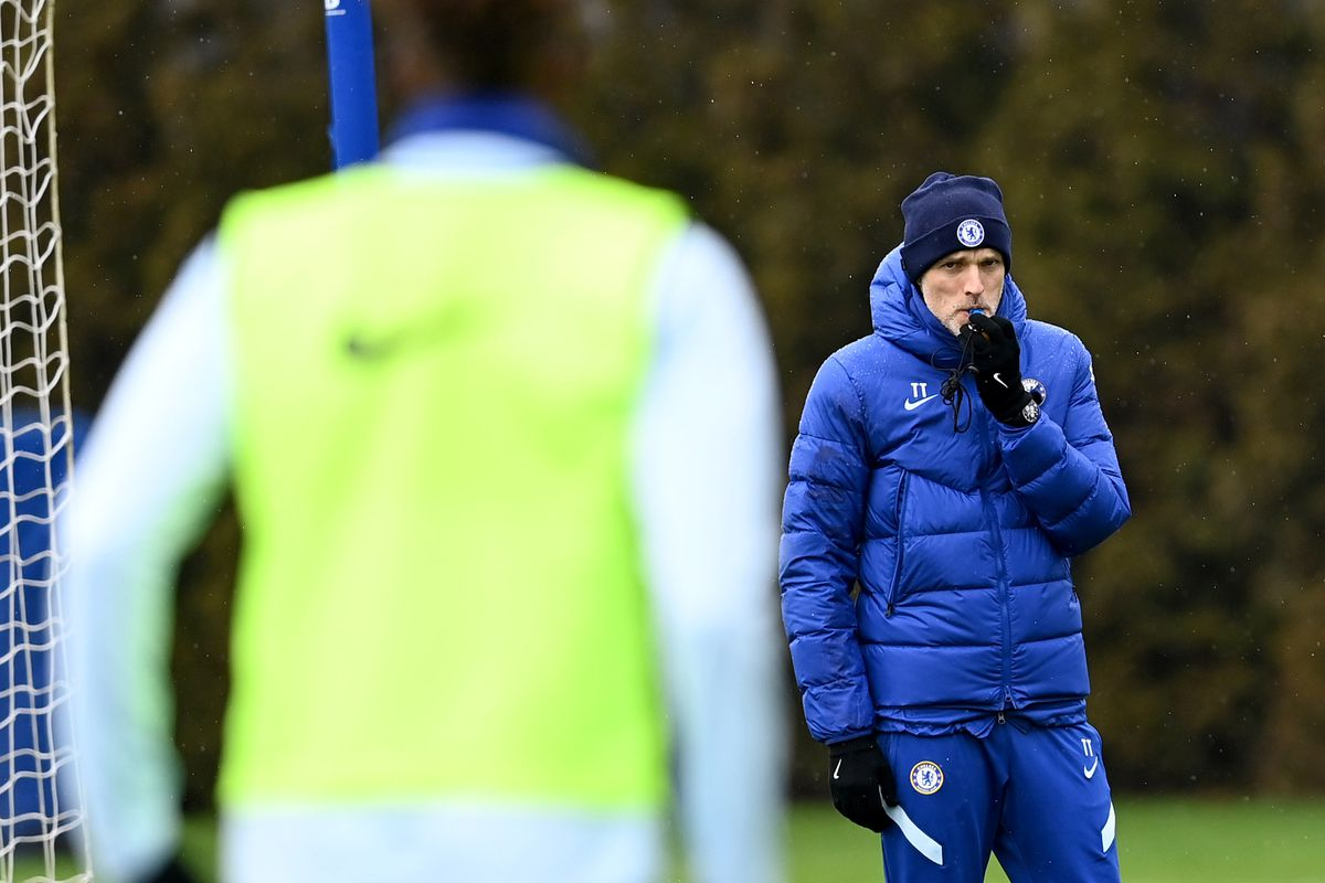 Chelsea Training Session & Press Conference