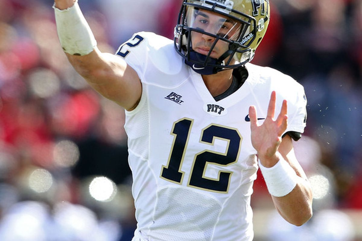 Tino needs to step up his game for Pitt to have a winning record in 2012.  (Photo by Andy Lyons/Getty Images)