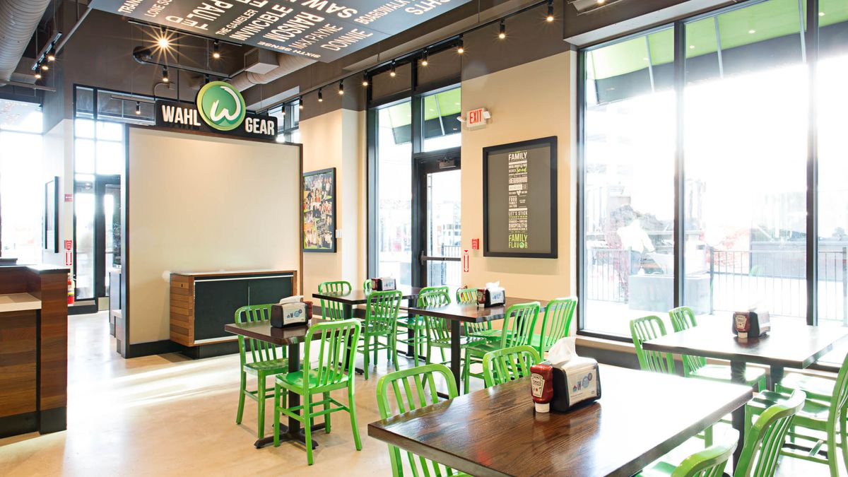 Wahlburgers in Dorchester