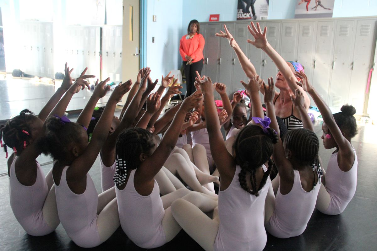 Dunbar Elementary School students practice ballet. Superintendent Dorsey Hopson rescinded his recommendation to close the Orange Mound school in 2016, but recent data shows it could be eligible for a consolidation plan.