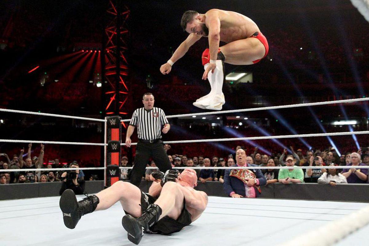 Cageside Community Star Ratings: Brock Lesnar vs  Finn Balor