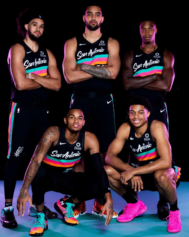 San Antonio Spurs City Jerseys 2020-2021