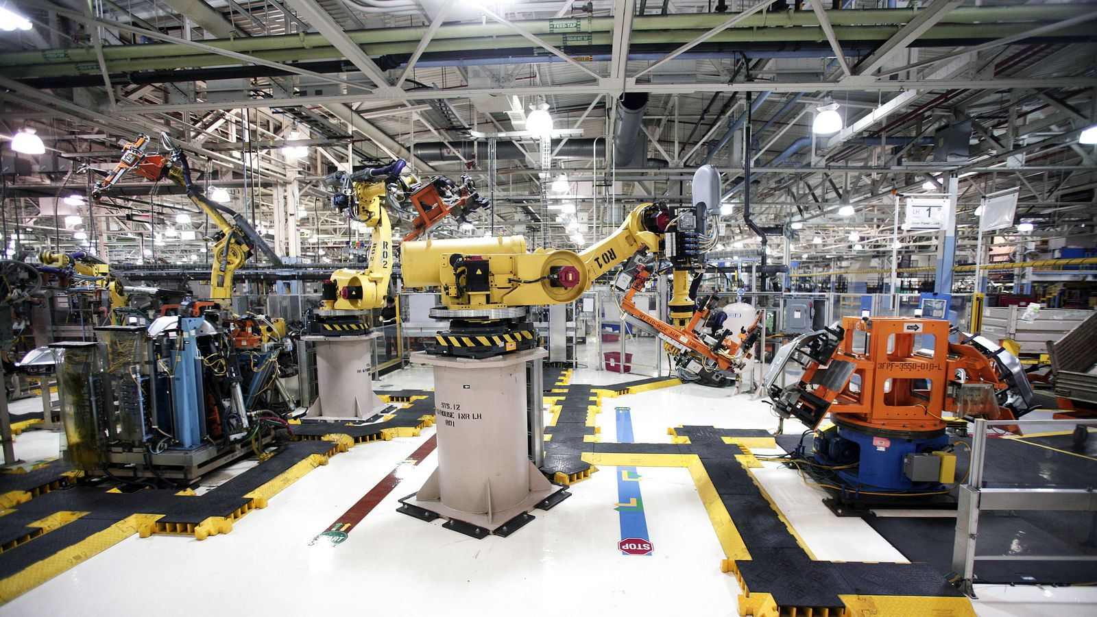 Toyota Columbus Ga >> Robots do destroy jobs and lower wages, says new study ...