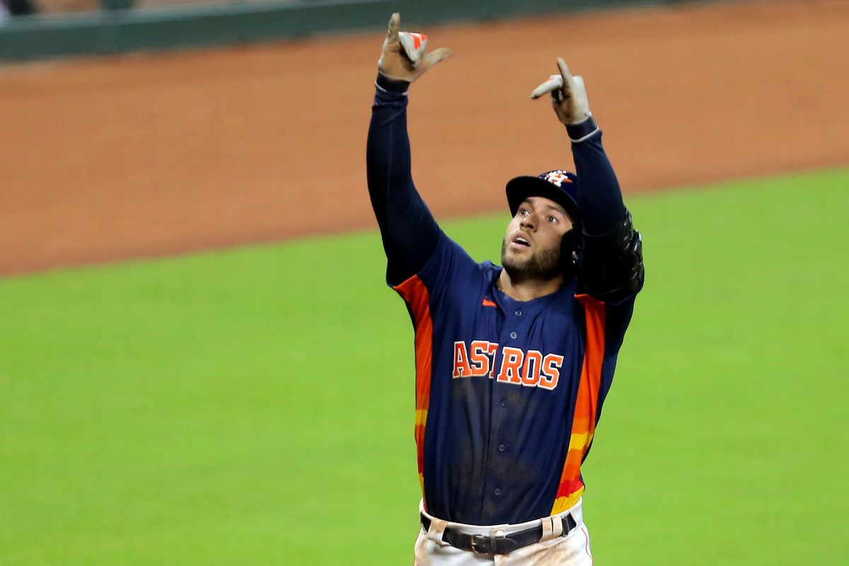 George Springer had a one-in-a-million game on Sunday - The Crawfish Boxes