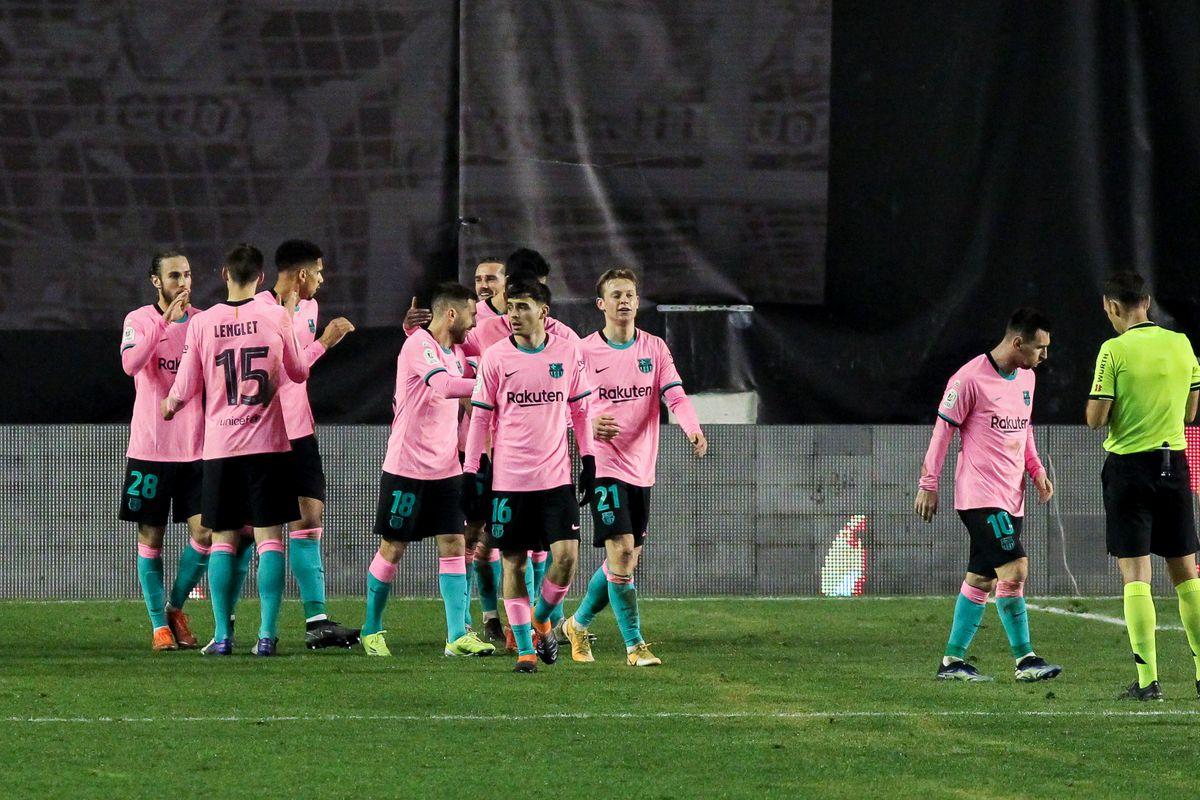 Rayo Vallecano V FC Barcelona - Copa Del Rey