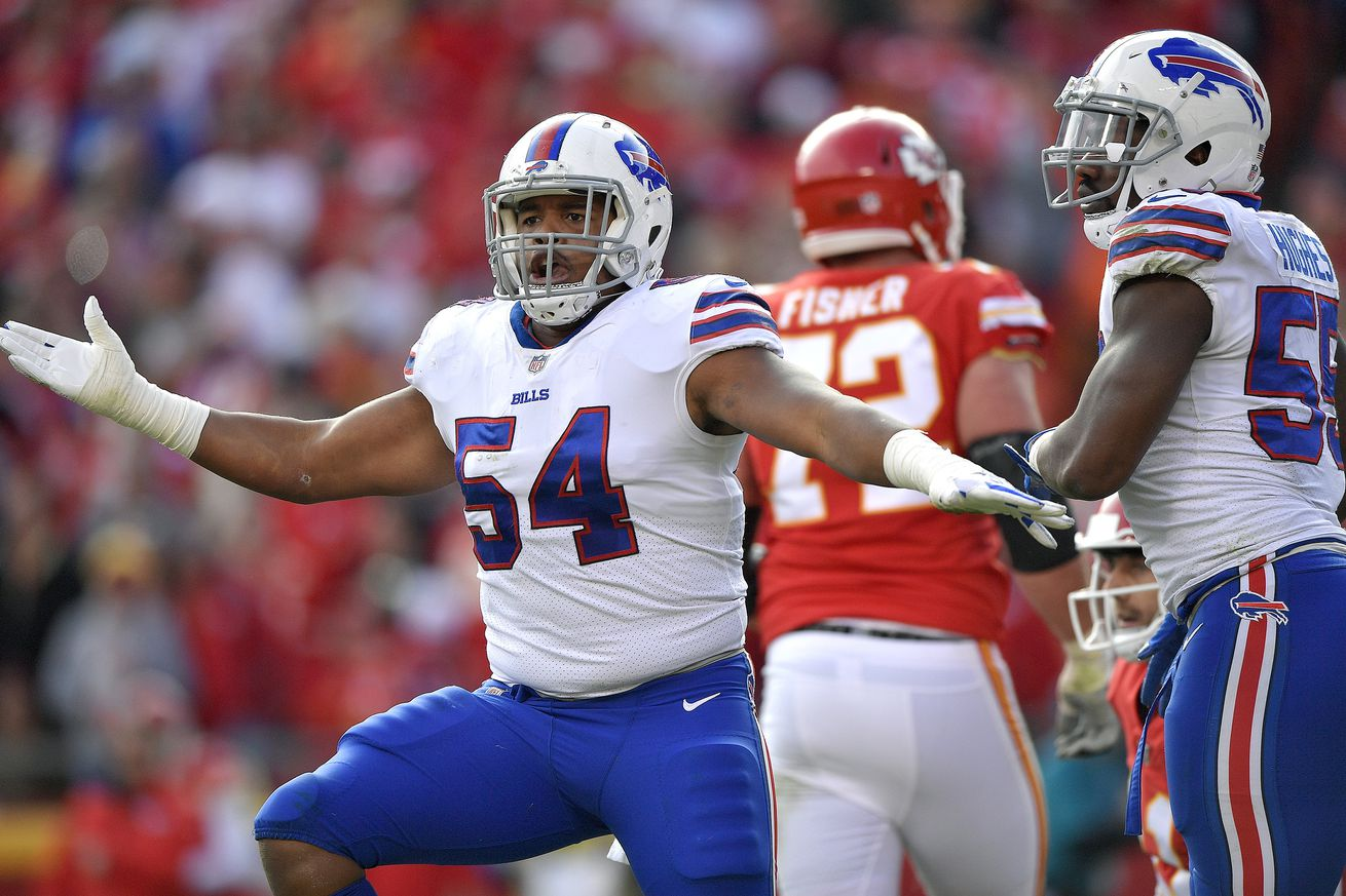 Who are the Buffalo Bills' internal candidates to replace Jerry Hughes?