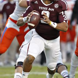 <strong>JAMEILL SHOWERS: </strong>Considered the favorite to win the starting QB job in 2012, Showers was a surprise backup when redshirt freshman Johnny Manziel was named the starter. The rest is history, with Manziel winning the Heisman and Showers announcing his transfer the following February.