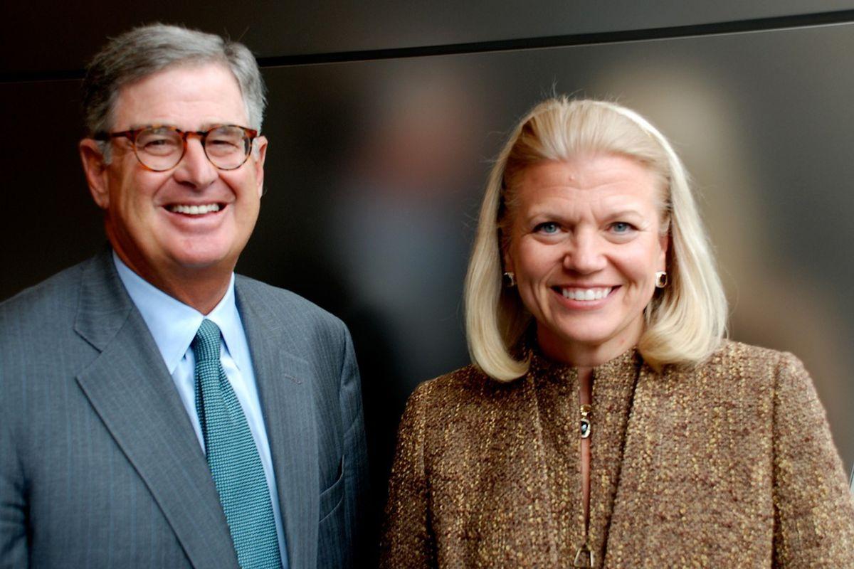 IBM Palmisano and Rometty