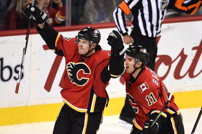 The Calgary Flames look to build upon their surprising playoff appearance in 2014-15.