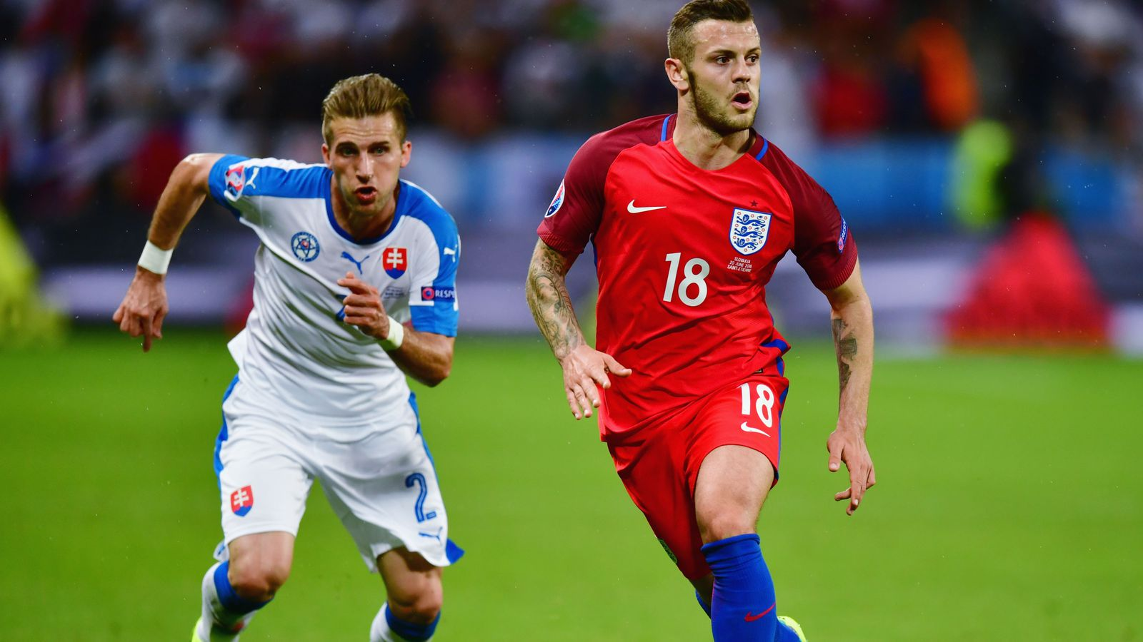 Slovakia Vs England