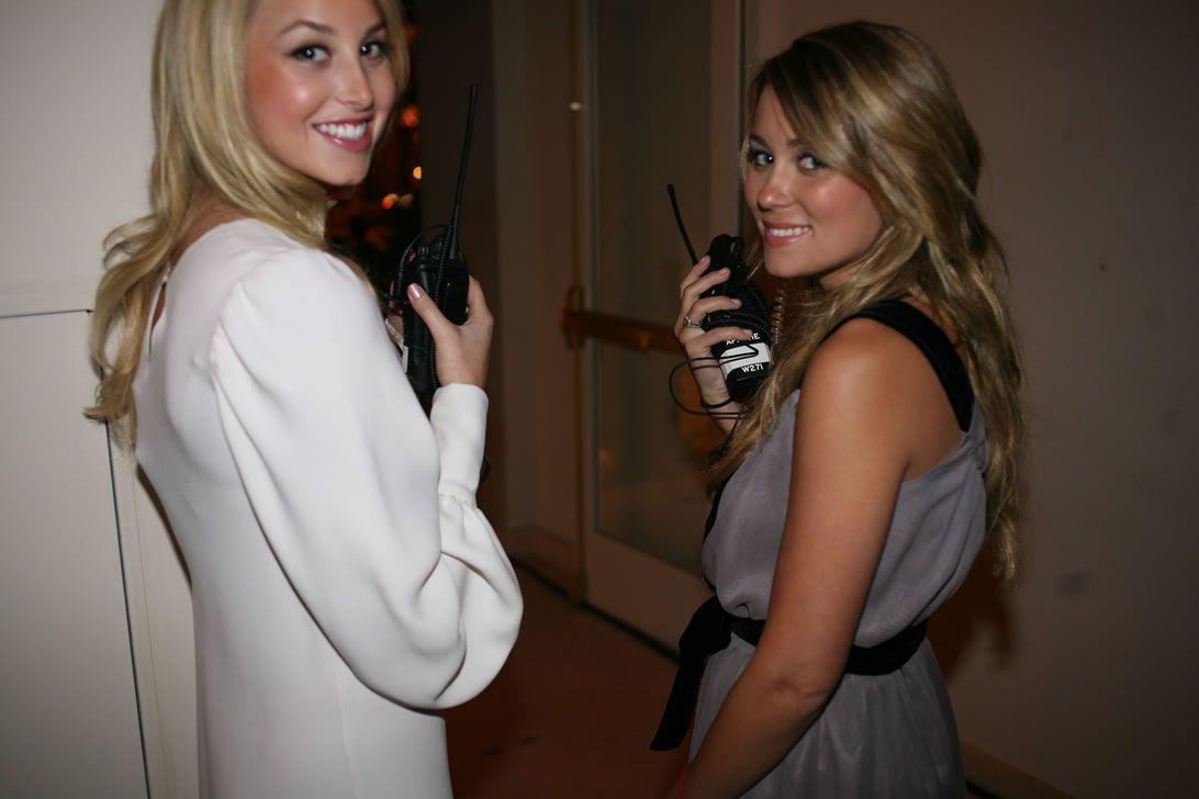 Whitney Port and Lauren Conrad in 2007