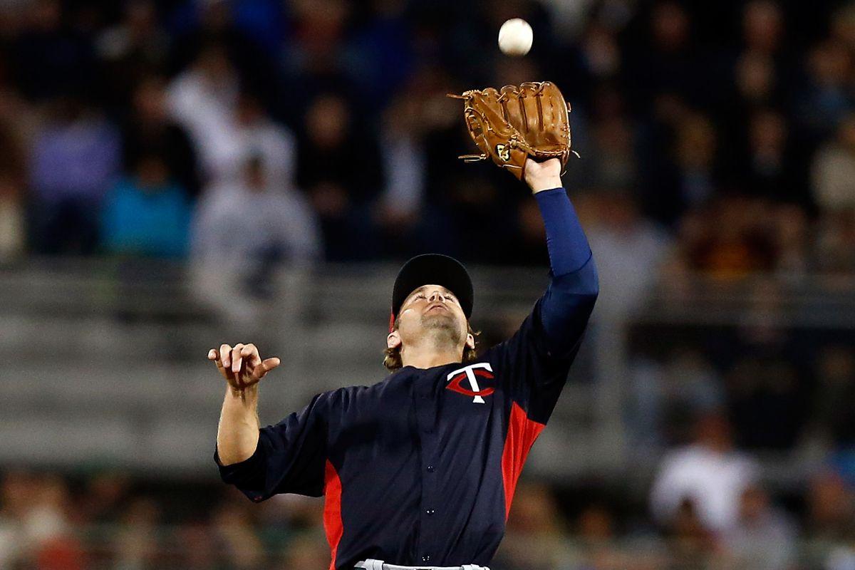 Brian Dozier playing baseball.