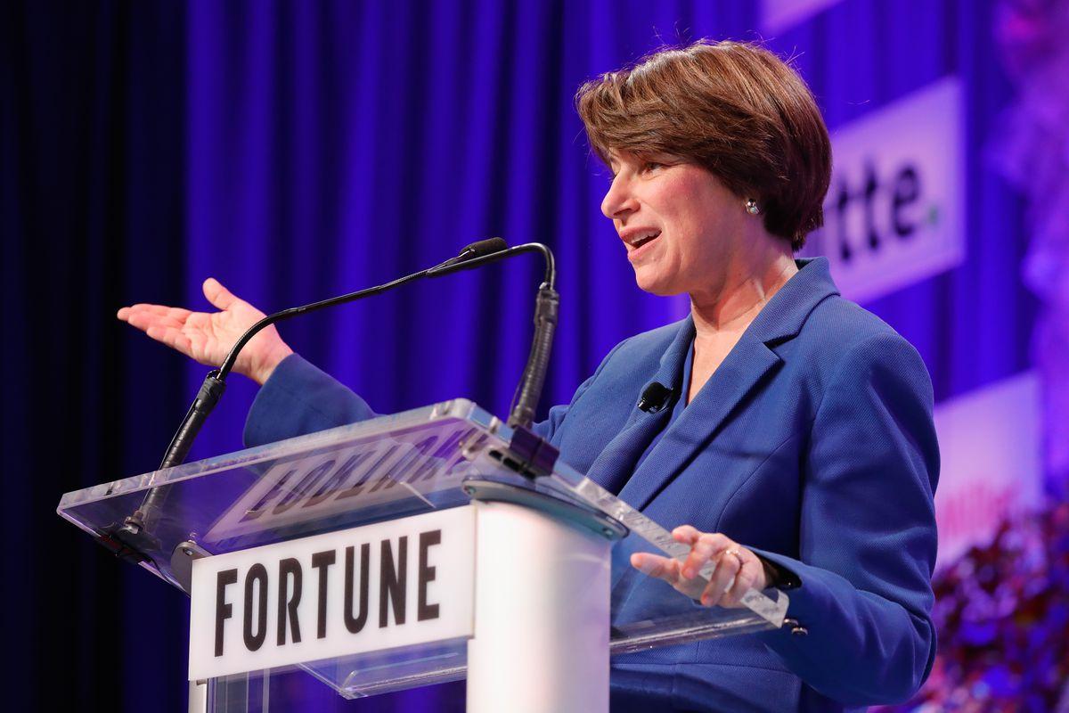 Minnesota State Senator Amy Klobuchar