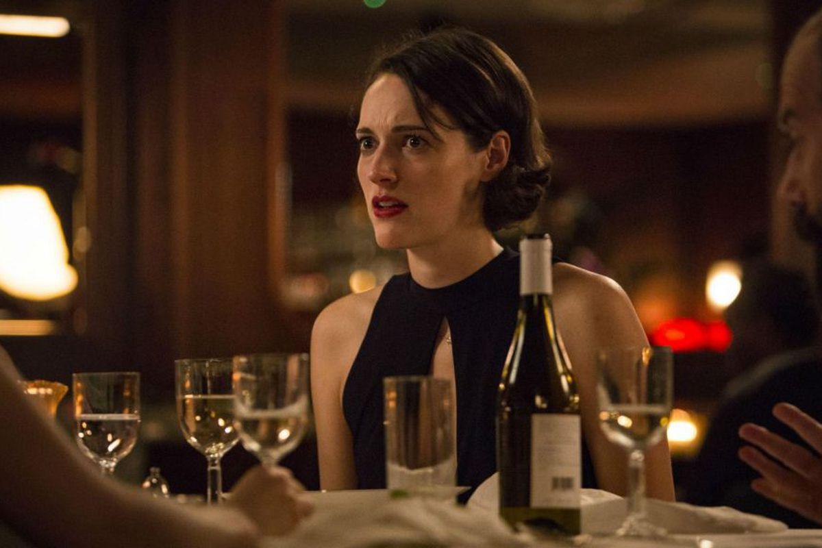 Fleabag star Phoebe Waller-Bridge in London steakhouse restaurant Smith and Wollensky
