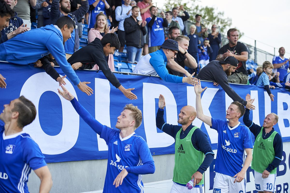 Lyngby BK v Slovan Bratislava - UEFA Europa League Qualification