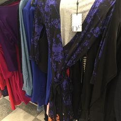 DVF wrap dress, $143.40