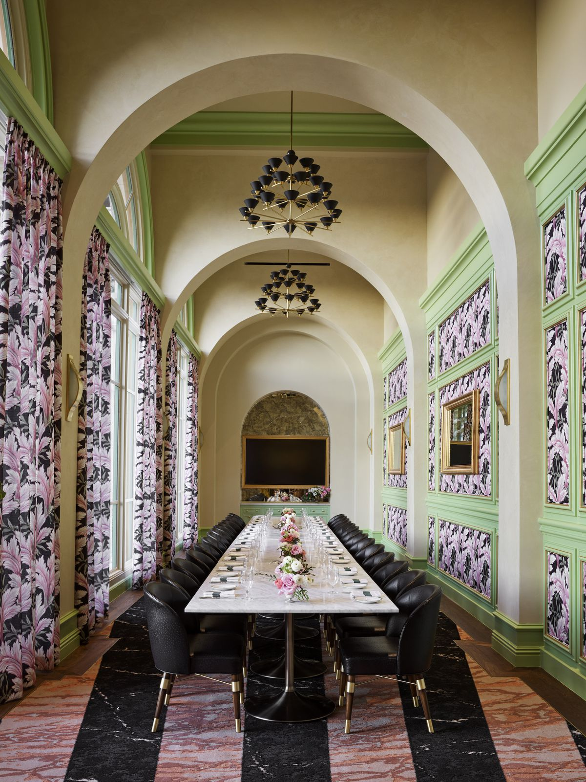 The private dining room at Sadelle's
