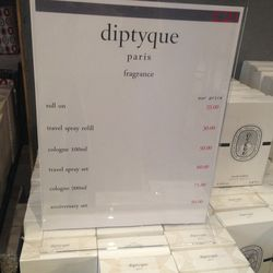 More fragrance pricing