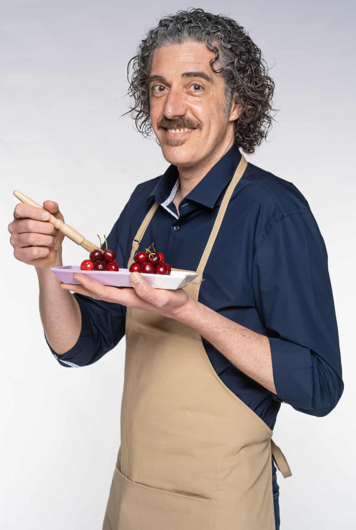 Great British Bake Off 2021 contestant Guiseppe, who will compete on GBBO this year
