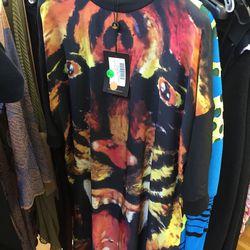 Tiger shirt, $56 (was $560)