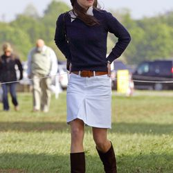 Looking pretty and preppy on May 4th, 2007 at the Badminton Horse Trials.