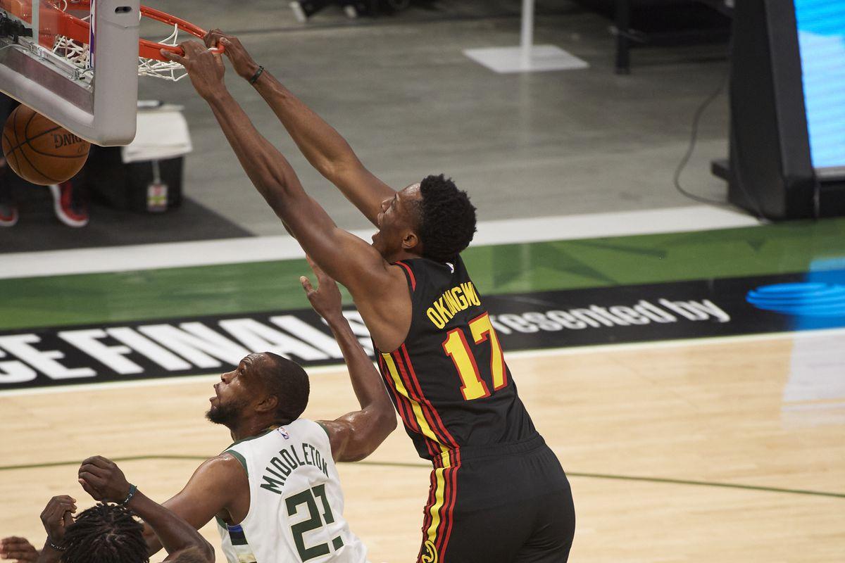 Milwaukee Bucks vs Atlanta Hawks, 2021 NBA Eastern Conference Finals