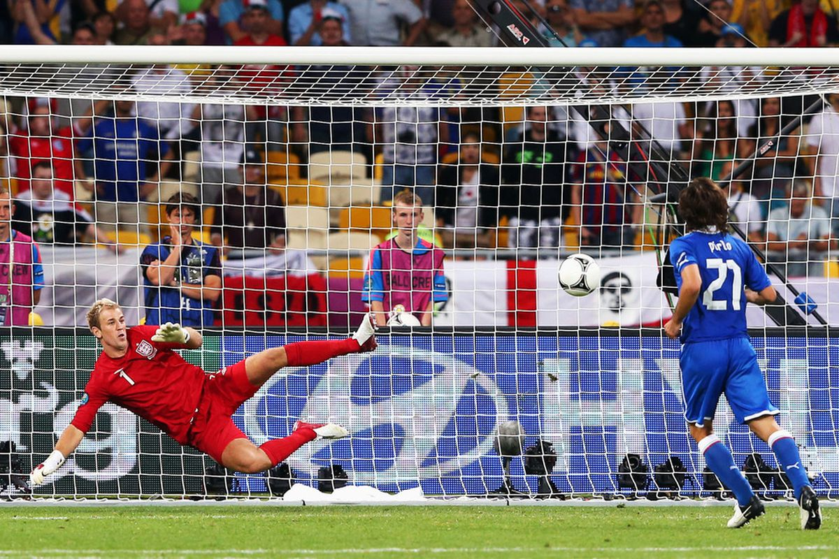 Pirlo, Italy will join Spain, Portugal and Germany in the Semi-Finals.