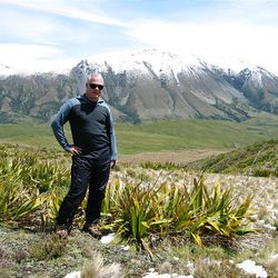 Phil Wannamaker, a geophysicist at the University of Utah, did research in New Zealand.