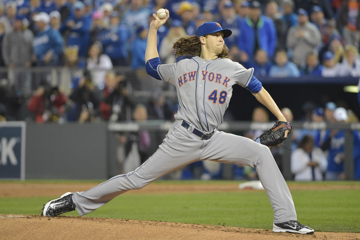 """Does Jacob deGrom have the best """"stuff"""" on the Mets staff?"""