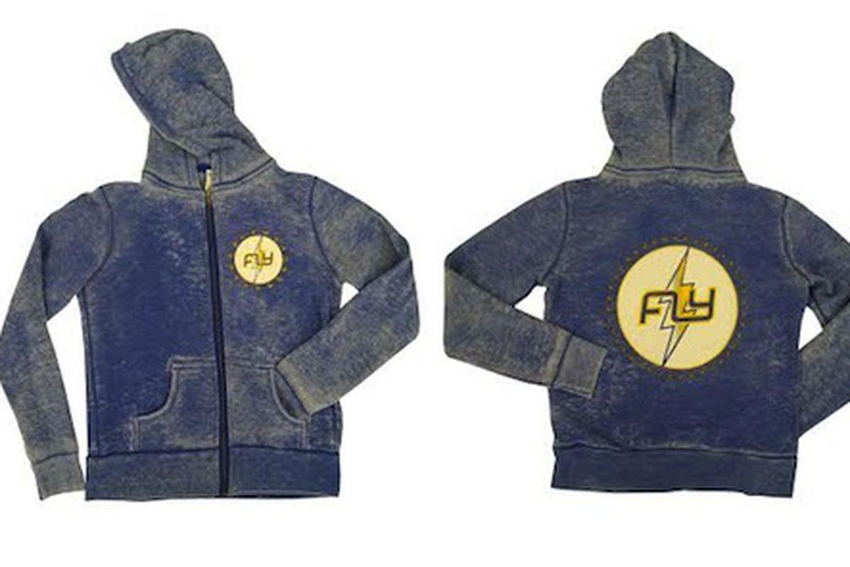 The Lightning Bolt sweatshirt, $65; Image via Flywheel