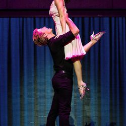 """Christopher Tierney (Johnny) and Bronwyn Reed (Baby) in the North American tour of """"Dirty Dancing,"""" which will be at the Eccles Theater through June 25."""