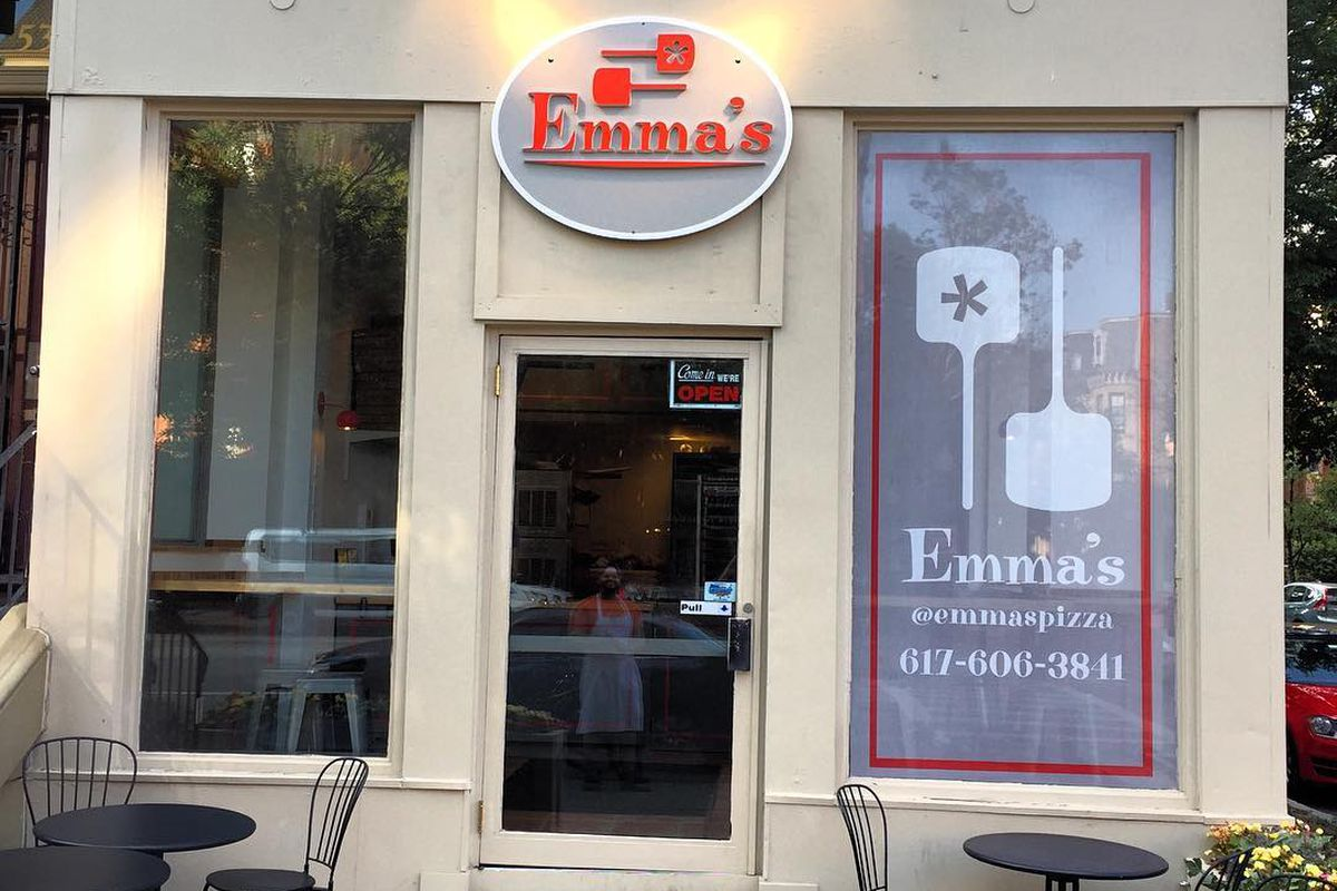 Emma's Pizza in the South End