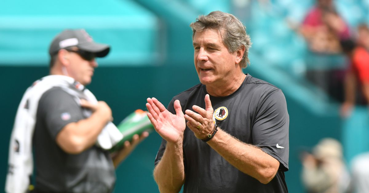 """Bill Callahan Redskins Presser: """"I'm seeing enough to stick with Case Keenum at QB"""""""