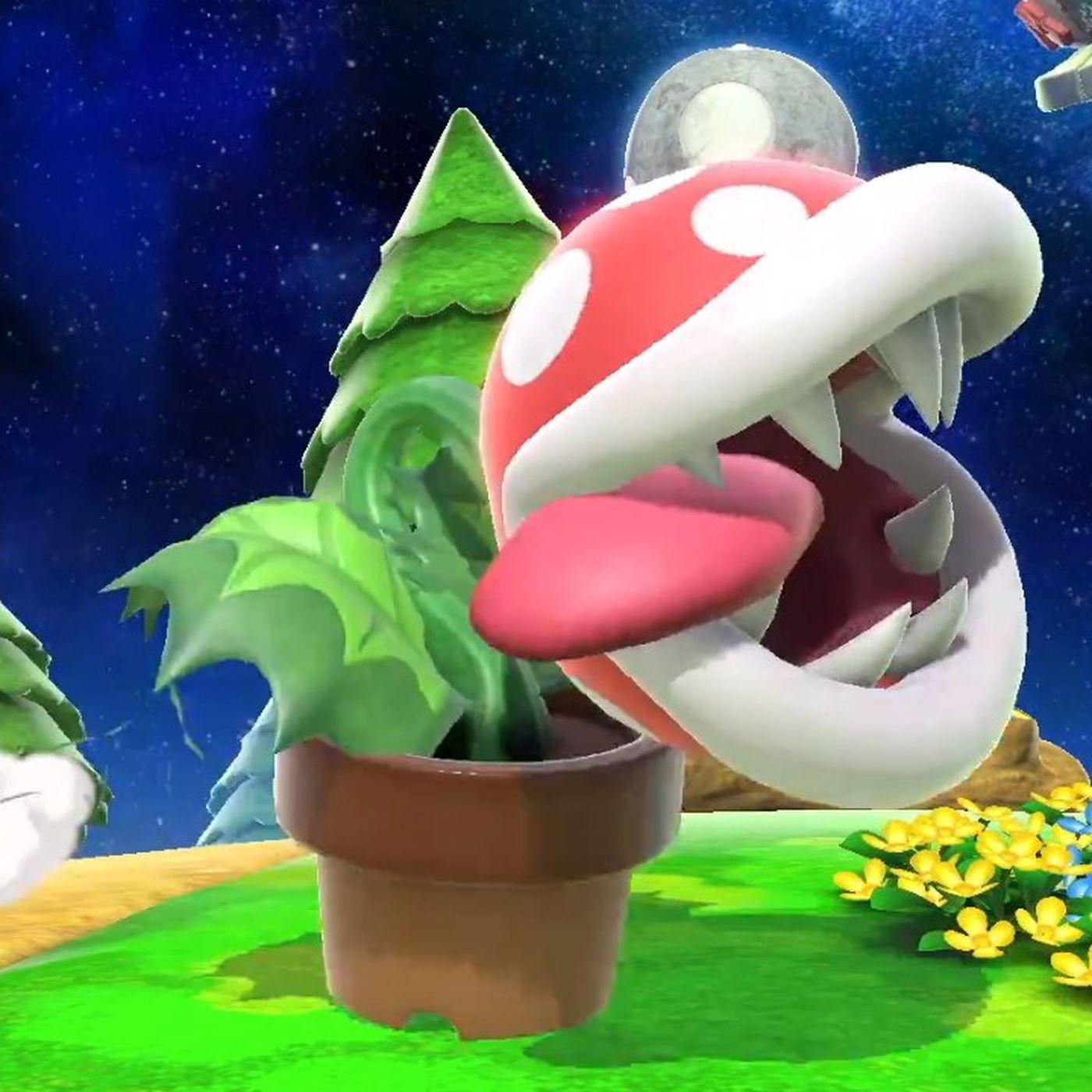 How to download Piranha Plant DLC for Super Smash Bros  Ultimate