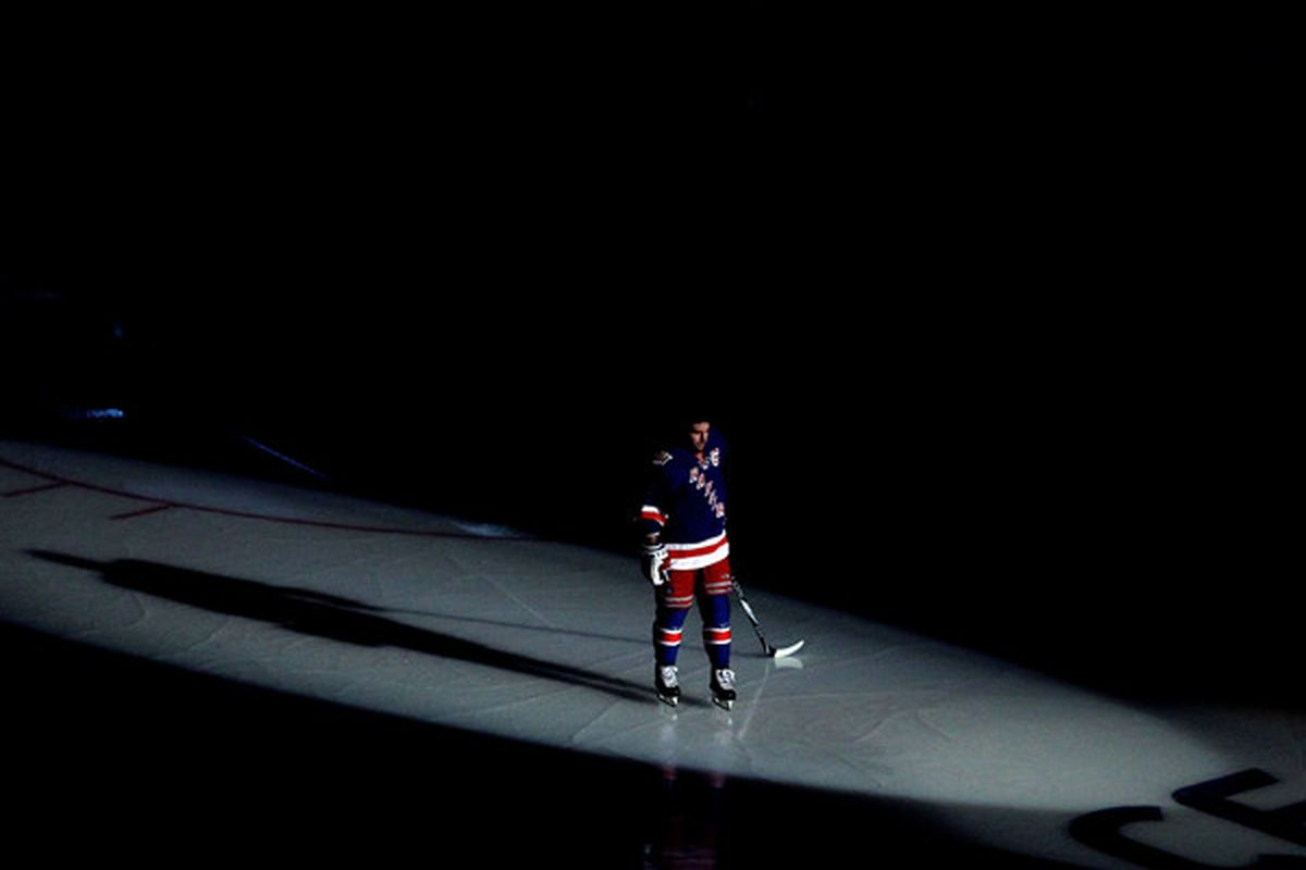 Chris Drury always had the bright lights on him because of his on-ice actions.