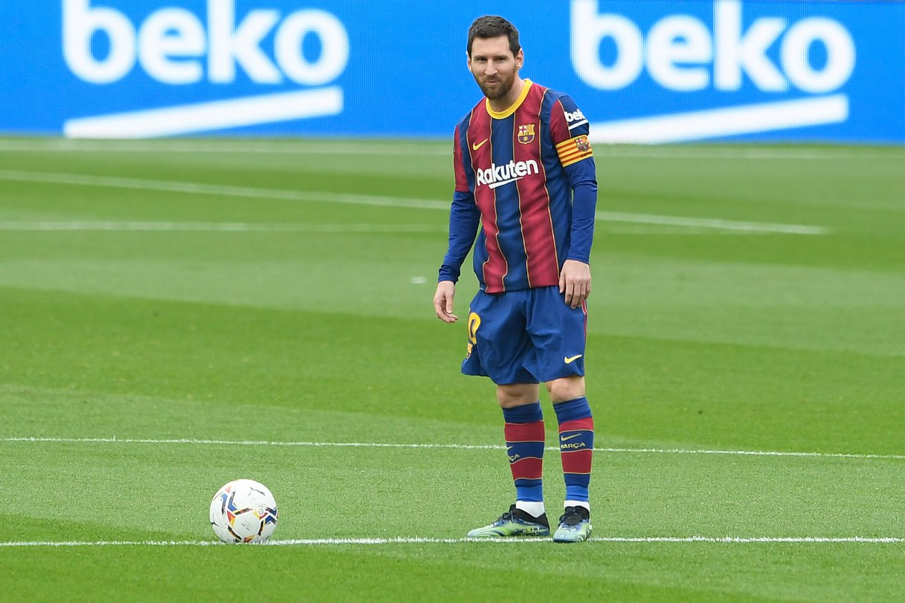 Messi beats Xavi?s record with 506th Barca appearance