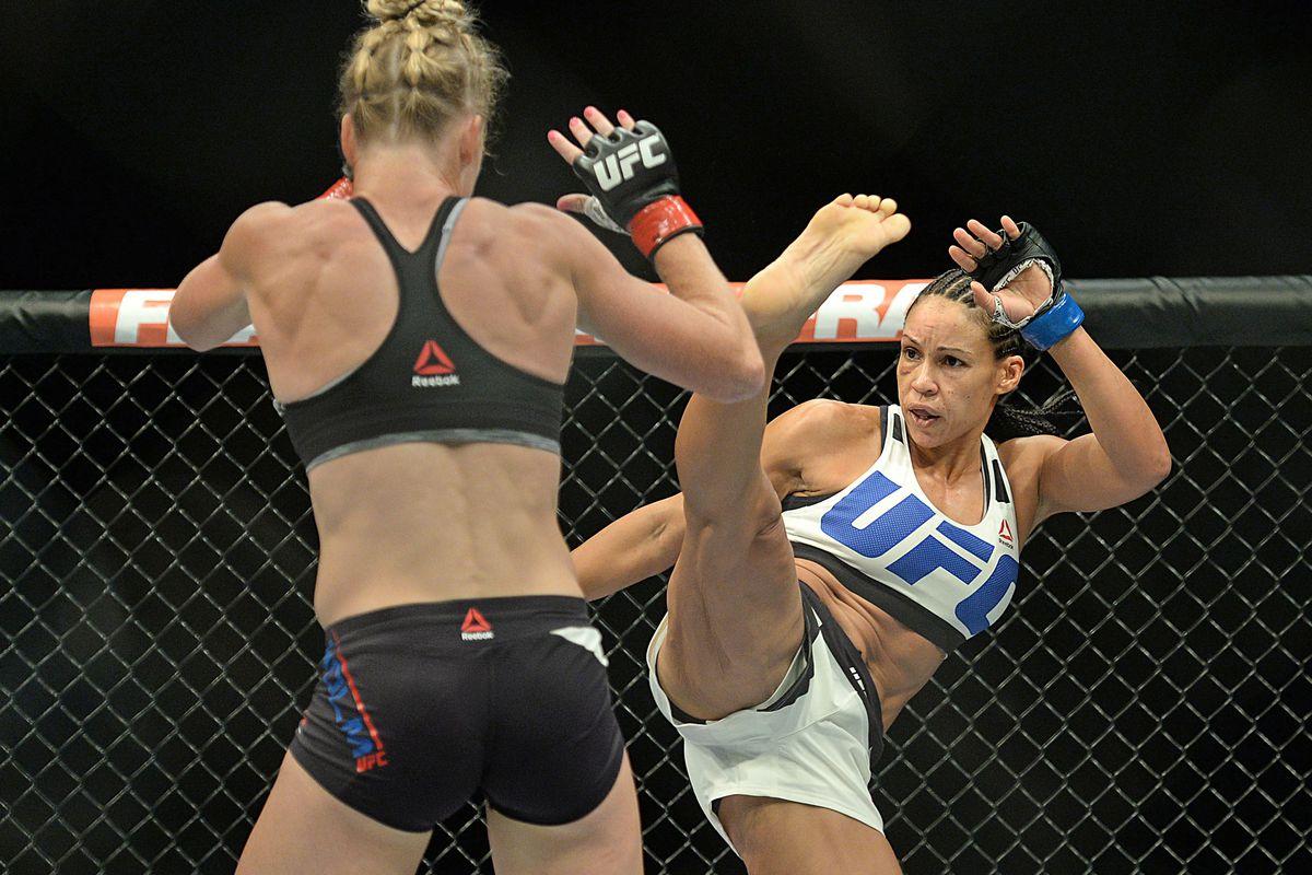 marion reneau vs ashlee evanssmith added to ufc fight