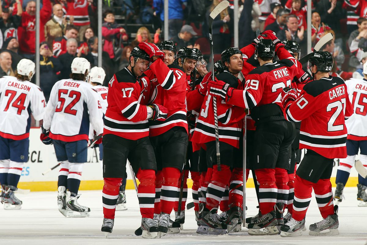 Different night, different period, same result: Ilya Kovalchuk's goal won the game for the Devils over the Capitals.