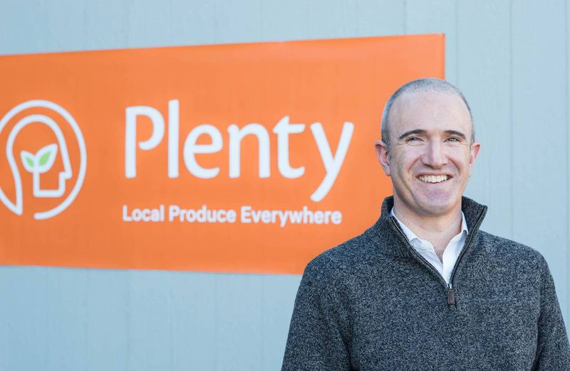 Plenty CEO Matt Barnard.