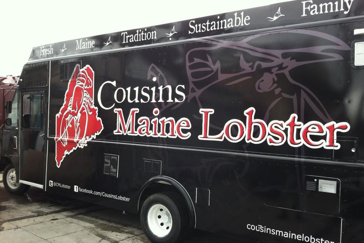 Be on the lookout for this truck cousins maine lobster facebook