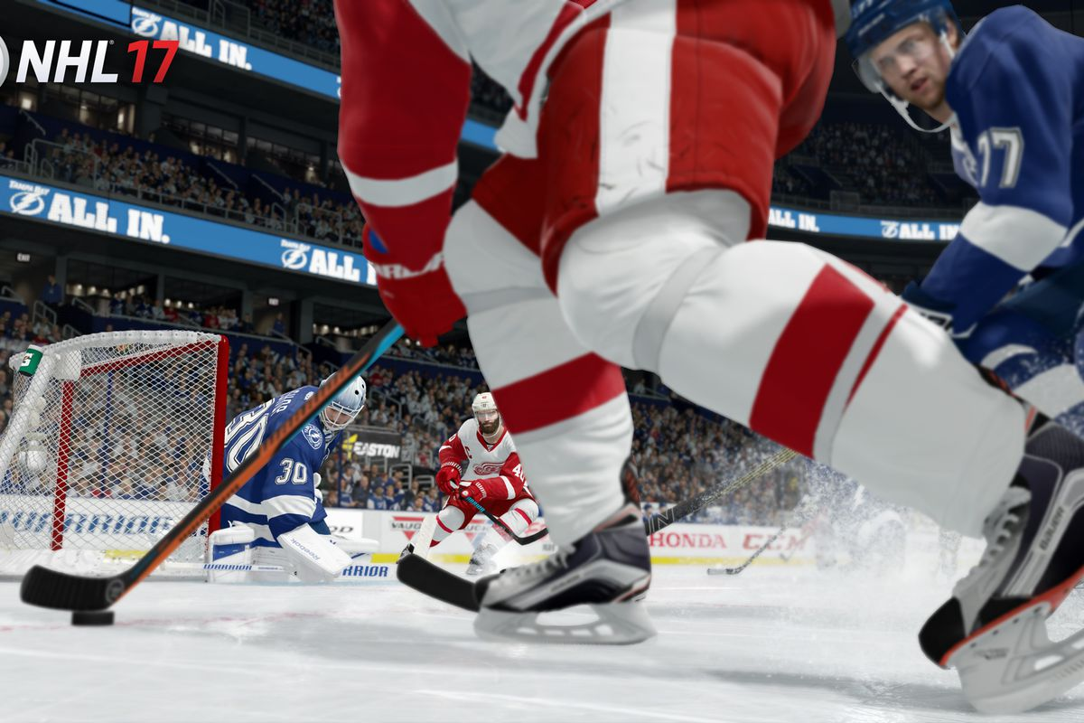 With NHL 17 Set To Release Next Week I Had The Chance Discuss Some Of New Advances And Changes Hockey Video Game Franchise EA Sports