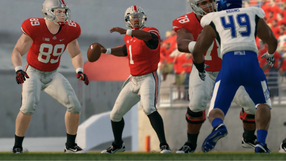 justin fields will start for ohio state on saturday September 5th 2020 against the buffalo bulls in the LandGrantHolyLand virtual season on Twitch