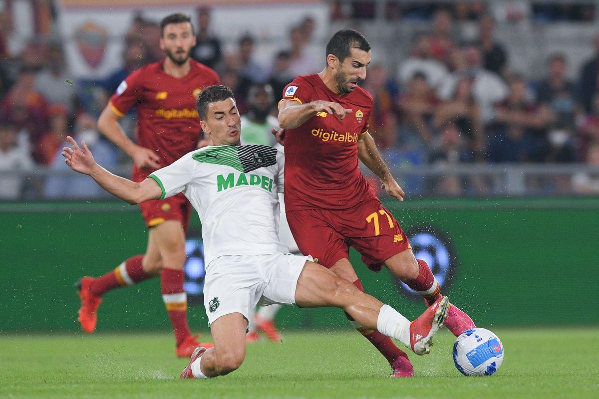 AS Roma v Sassuolo Calcio - Serie A