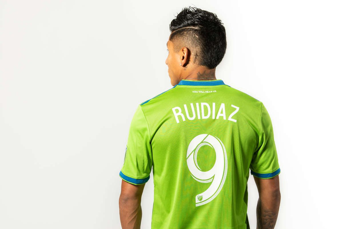 sports shoes 843c6 2ce47 Raul Ruidiaz will wear #9 jersey - Sounder At Heart