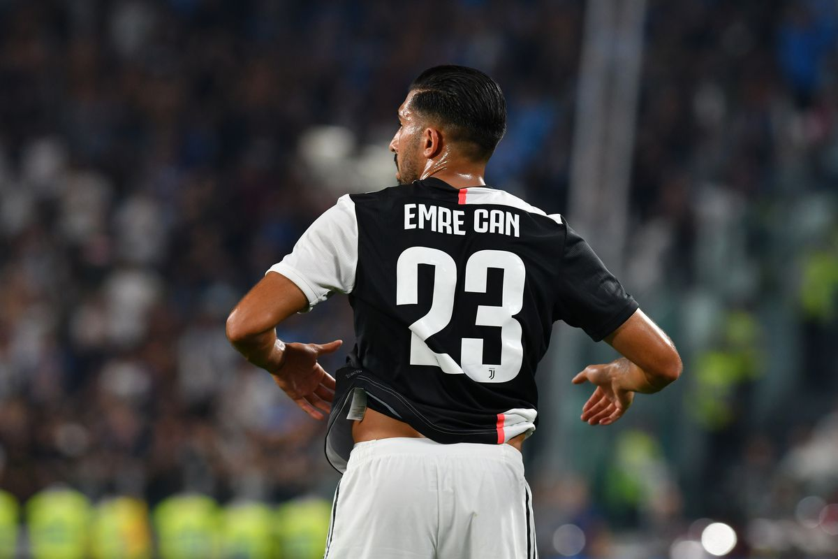Emre Can of Juventus FC during the Serie A match between...