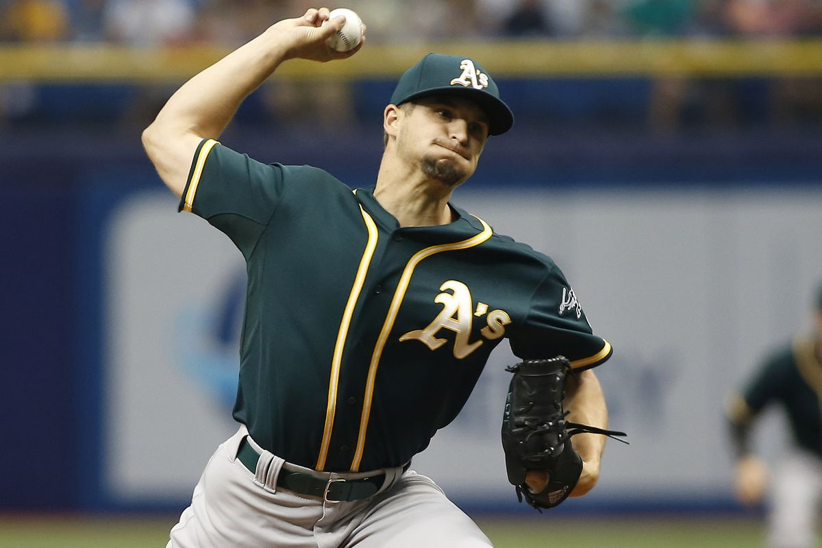 Kendall Graveman starts for the A's in Game 1 of this three-game series against the Detroit Tigers.